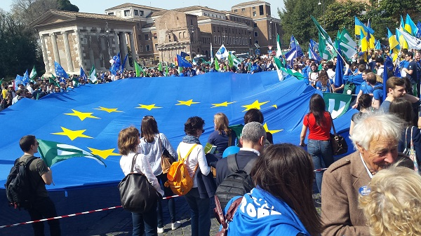 klein March for Europe Rom 25. Mrz 2017 3