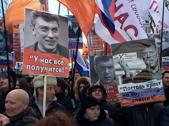 March in memory of Boris Nemtsov in Moscow 2017 02 26 76 Foto: Voice of America
