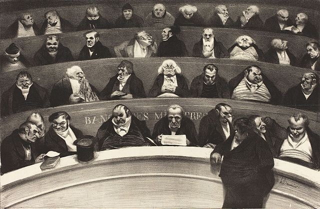 Le Ventre lgislatif Honor Daumier