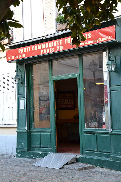 Paris local du Parti communiste Jeanne Menjoulet wikimedia
