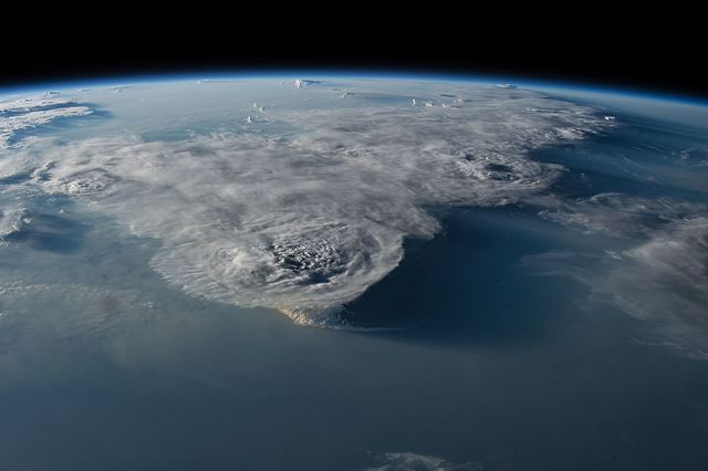 ISS 48 Thunderstorms over the South China Sea