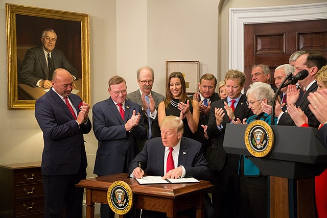 President Trump Executive Order on Healthcare October 2017 Foto: Andrea Hanks / The White House